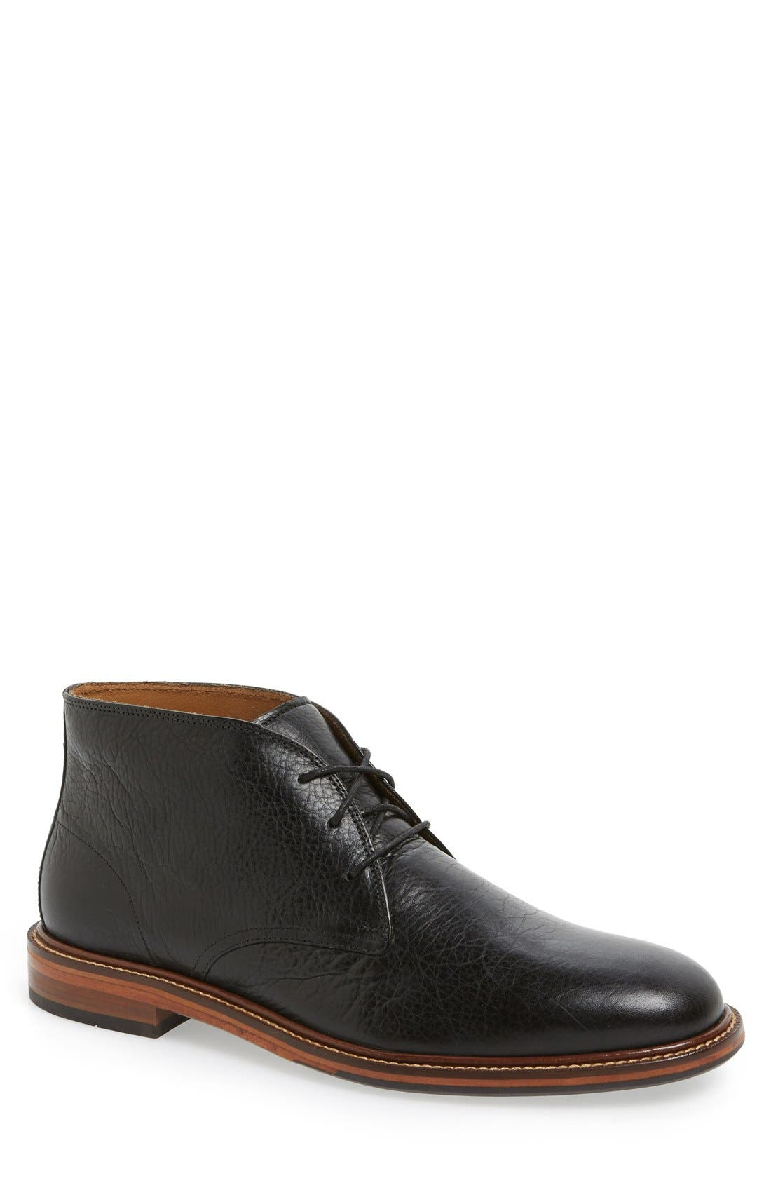 'Barron' Chukka Boot,                             Main thumbnail 1, color,                             Black