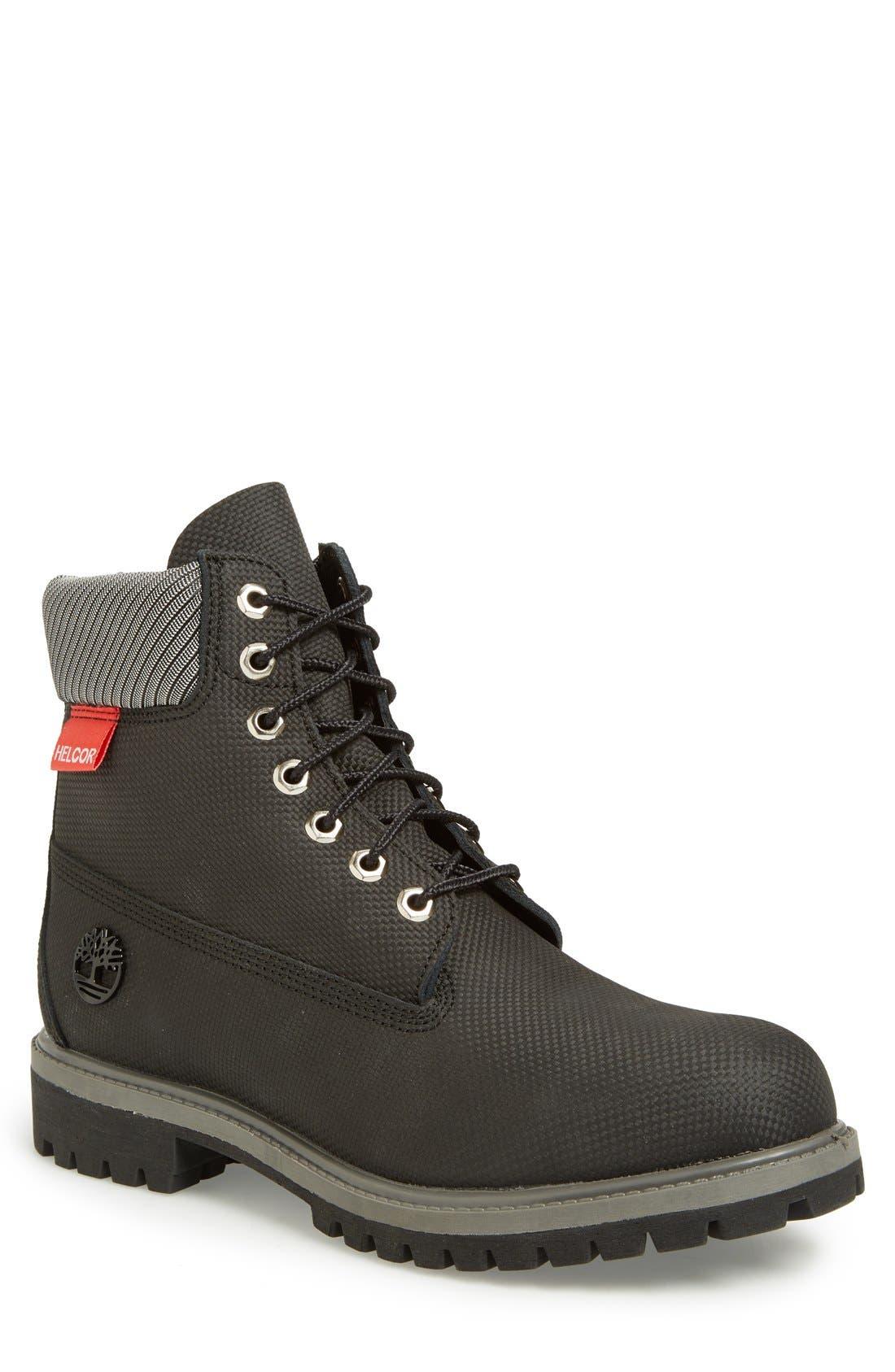 Alternate Image 1 Selected - Timberland 'Premium' Waterproof Plain Toe Boot (Men)