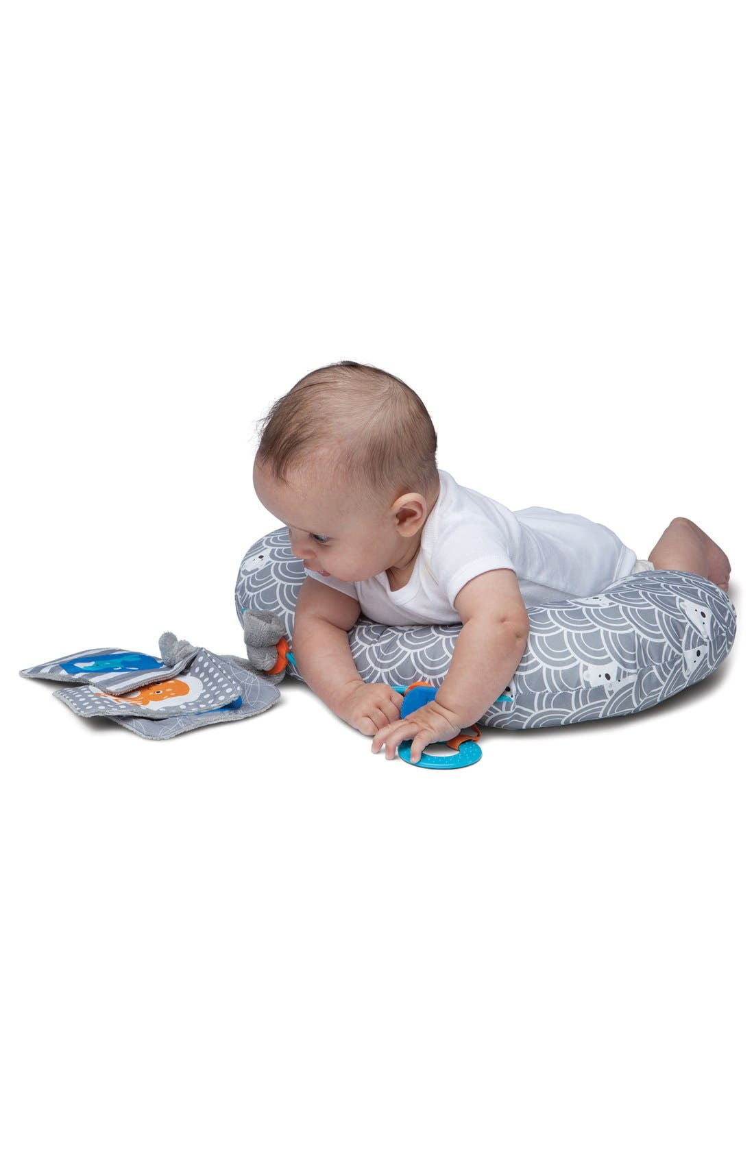 Alternate Image 6  - Boppy 'Tummy Time - SlideLine Collection' Mini Pillow, Book & Teething Ring (Baby)