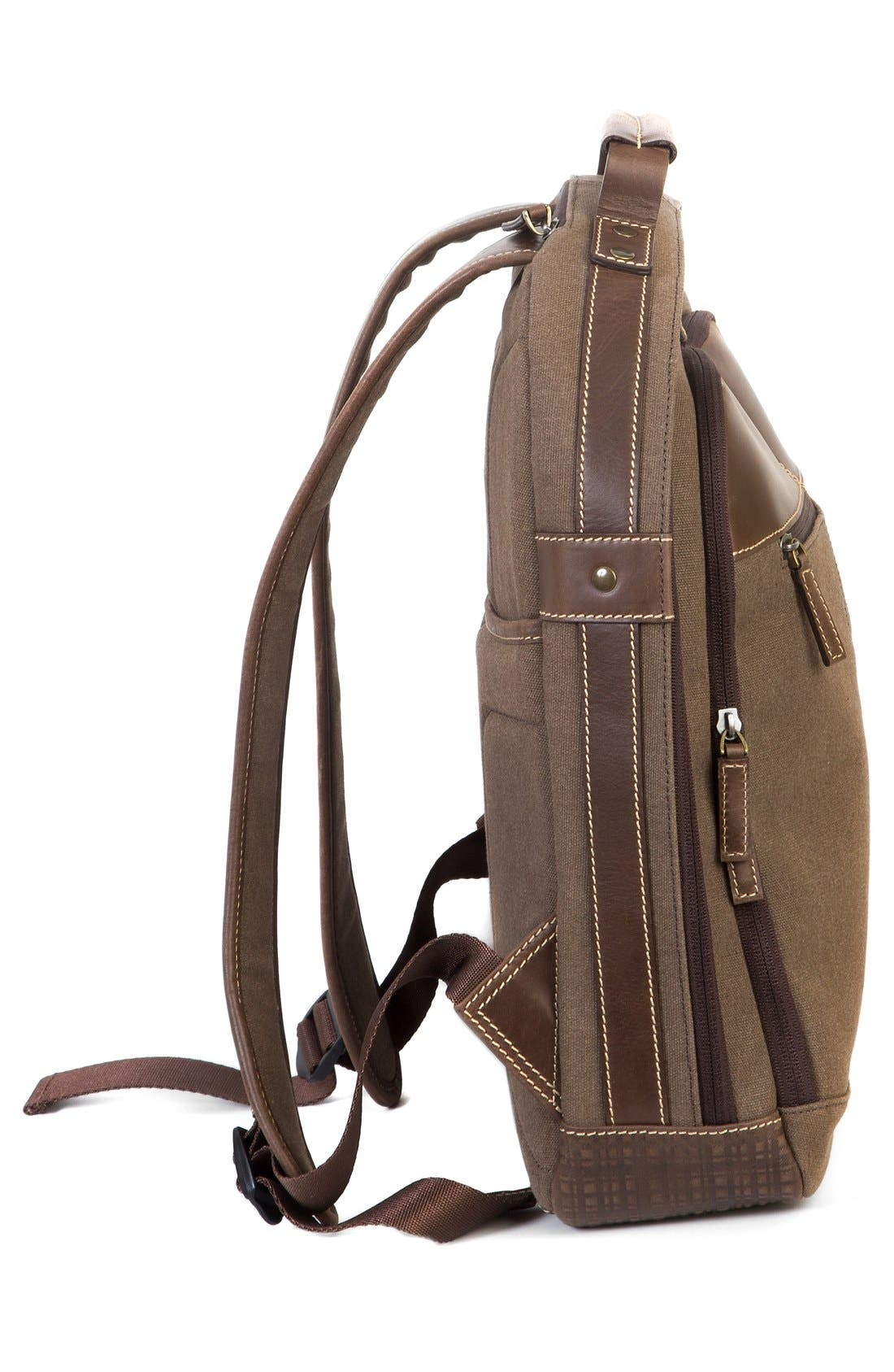 'Bryant LTE' Backpack,                             Alternate thumbnail 4, color,                             Heather Brown