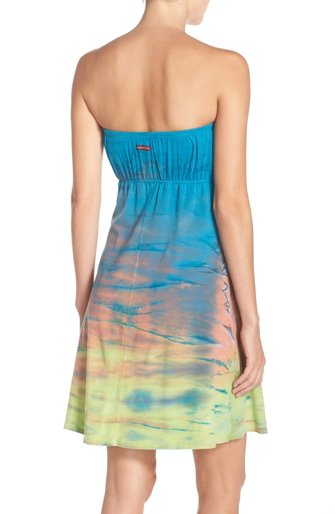 Alternate Image 2  - Hard Tail Strapless Cover-Up Dress