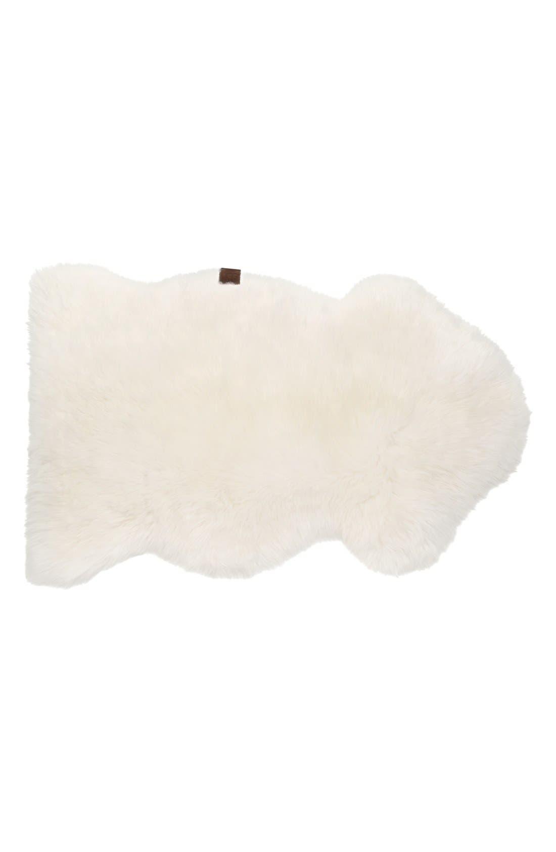 Alternate Image 1 Selected - UGG® Genuine Sheepskin Rug