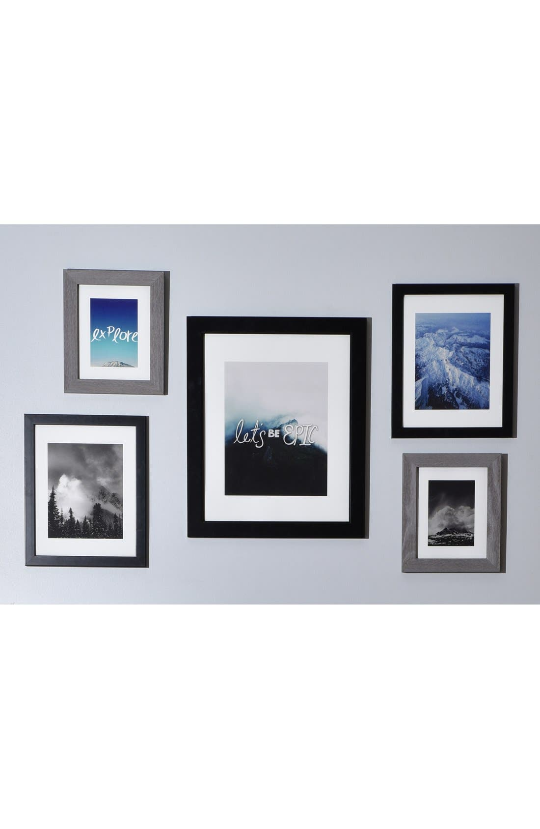 'Let's Be Epic' Wall Art Gallery,                             Alternate thumbnail 3, color,                             White