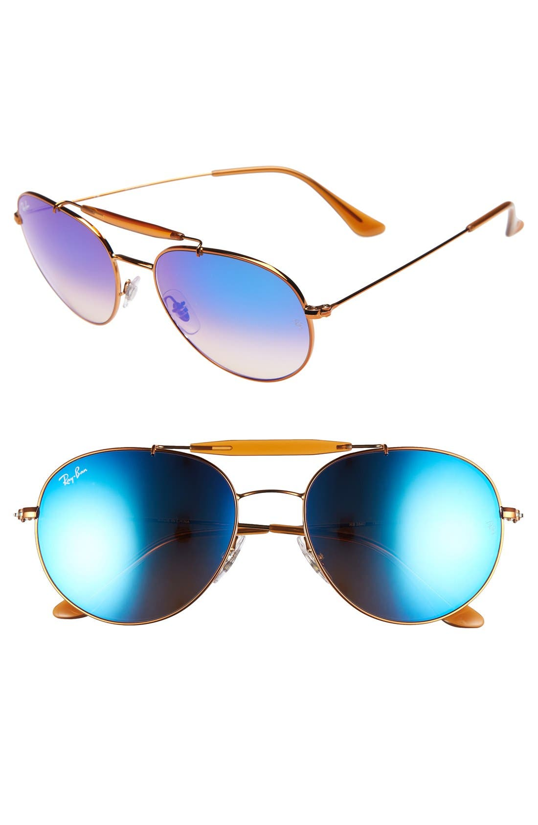 Alternate Image 1 Selected - Ray-Ban Highstreet 56mm Sunglasses
