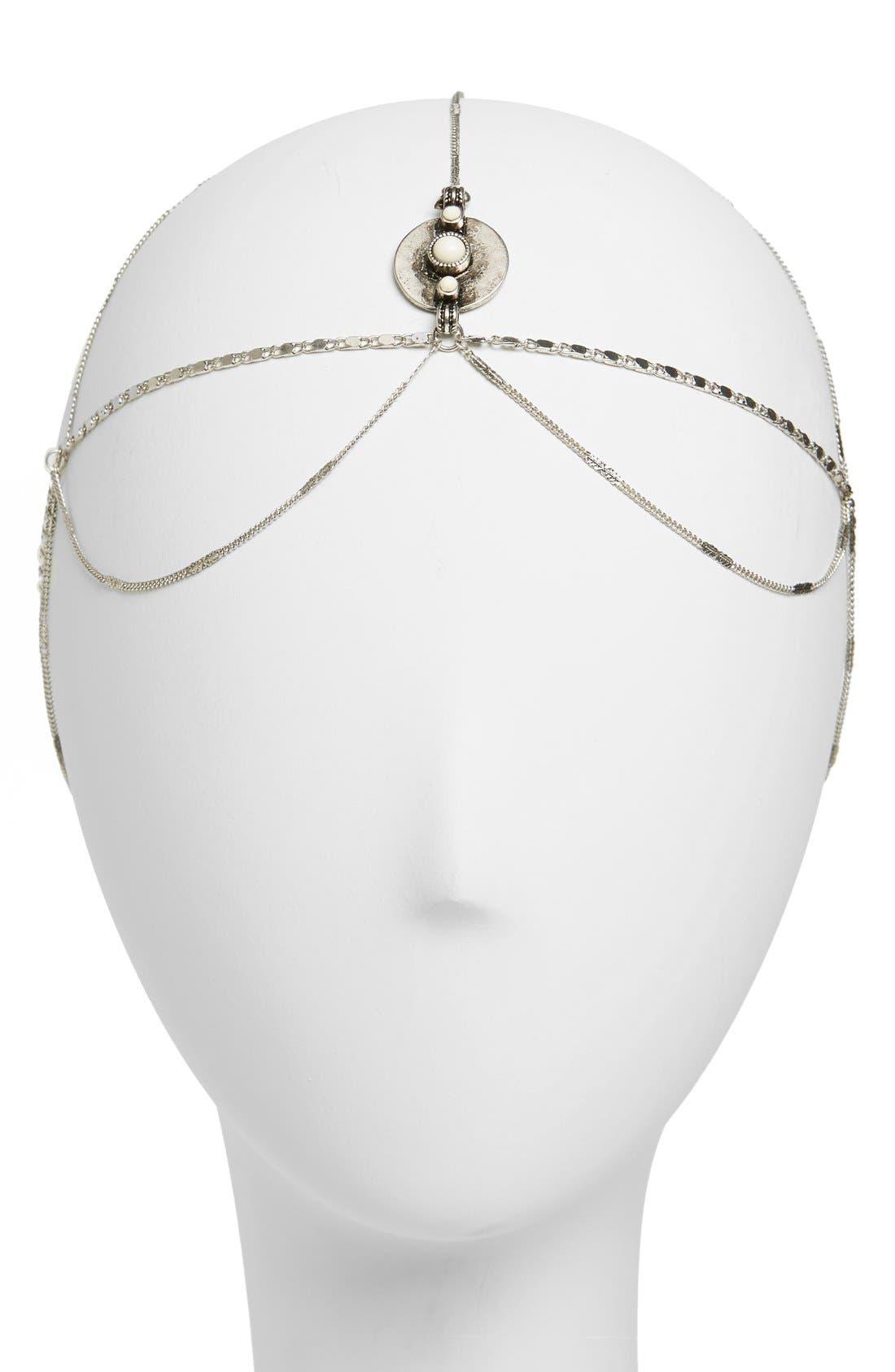 Alternate Image 1 Selected - Berry 'Goddess' Head Chain