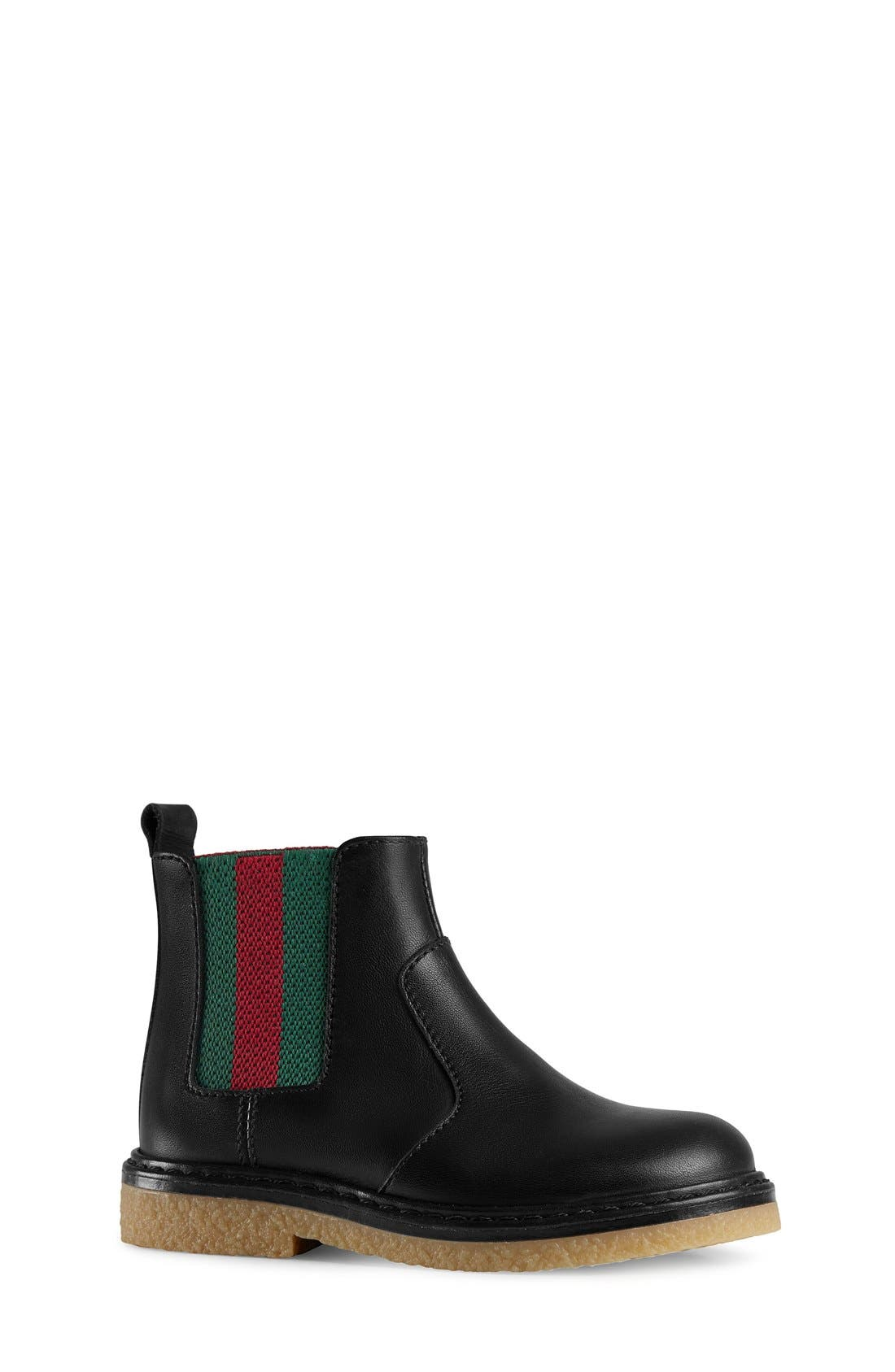 Alternate Image 1 Selected - Gucci 'Joshua' Chelsea Boot (Baby, Walker, Toddler & Little Kid)