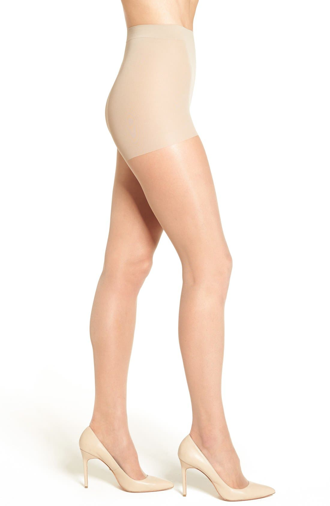 Alternate Image 1 Selected - Nordstrom Control Top Pantyhose (3 for $36)