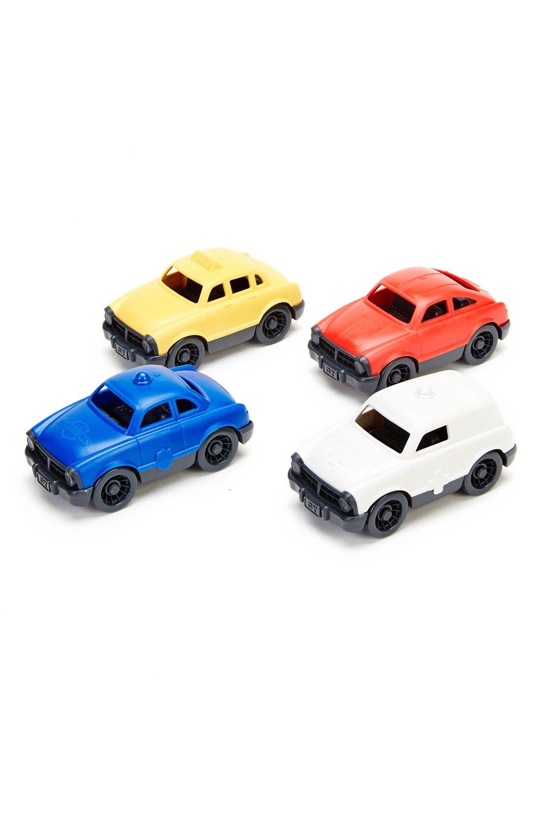Green Toys Mini Vehicle Set (4-Pack)