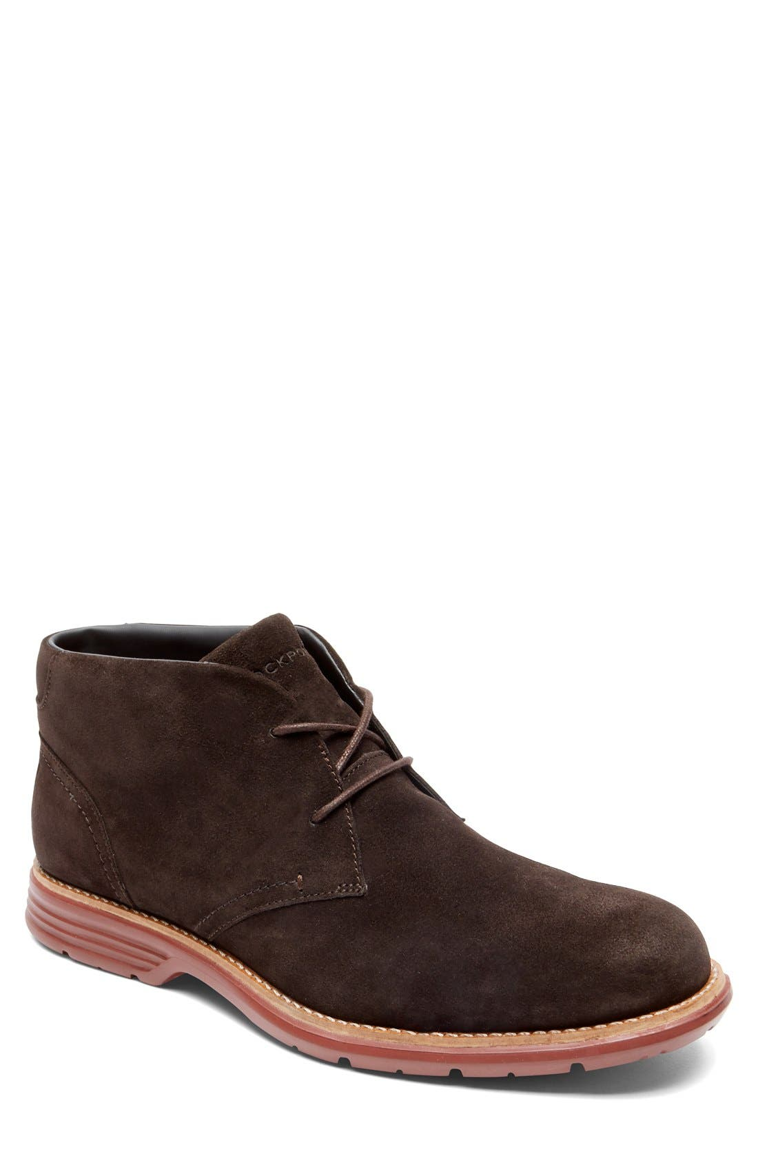 Alternate Image 1 Selected - Rockport 'Total Motion Fusion' Chukka Boot (Men)