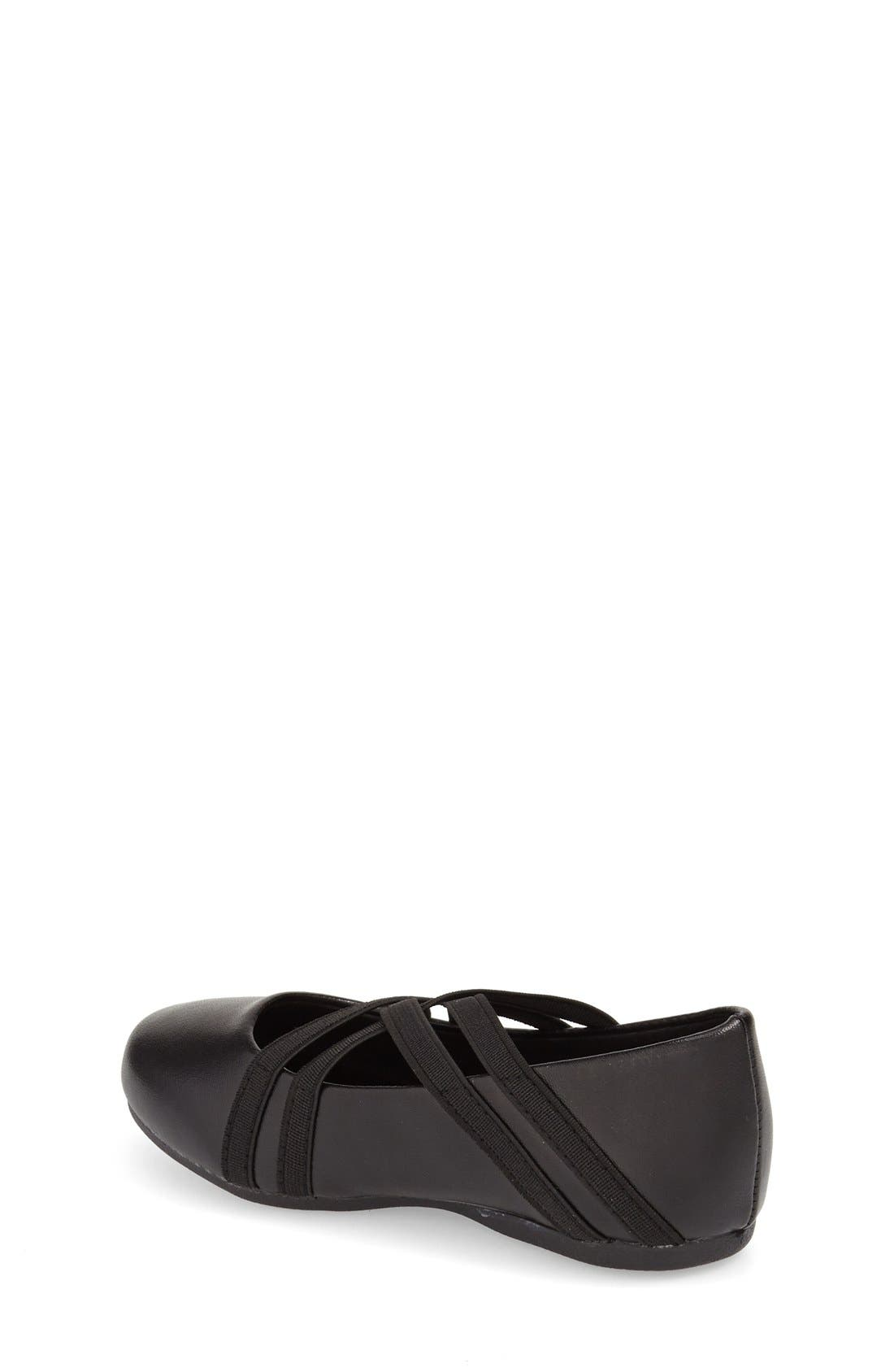 Alternate Image 2  - Kenneth Cole New York 'Rose Bay' Round Toe Flat (Walker, Toddler, Little Kid & Big Kid)