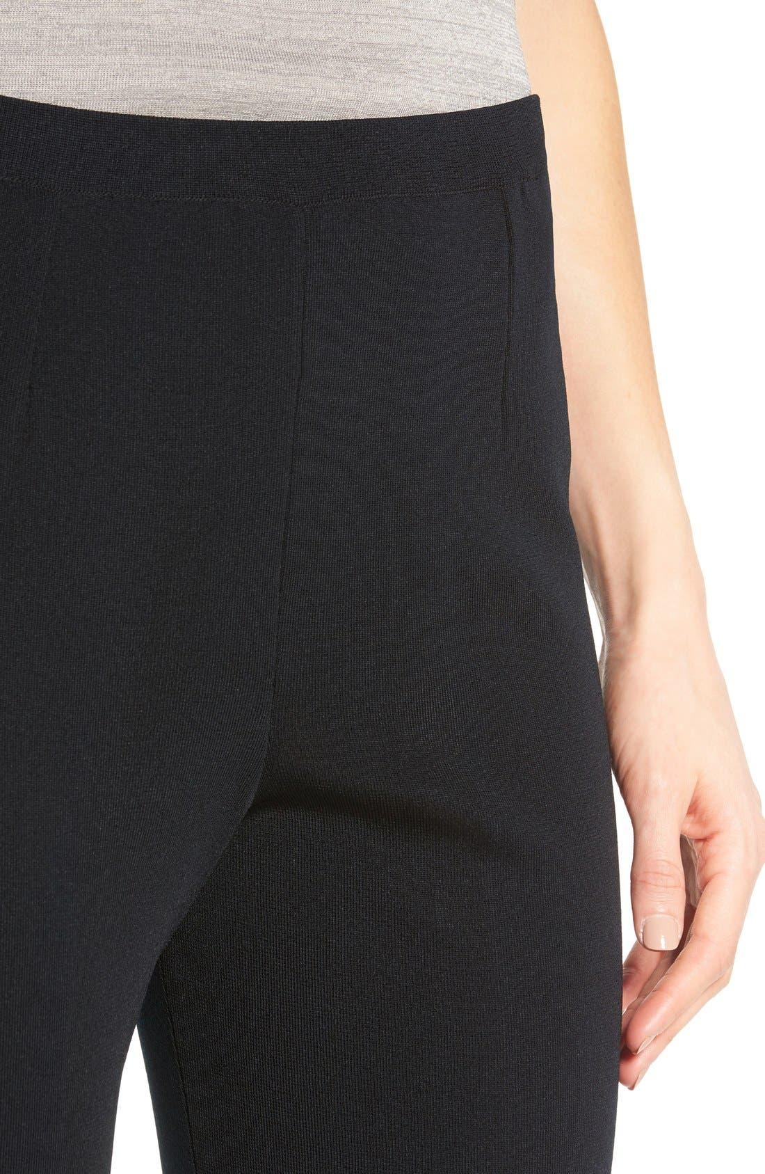 Alternate Image 4  - Ming Wang Pull-On Knit Pants