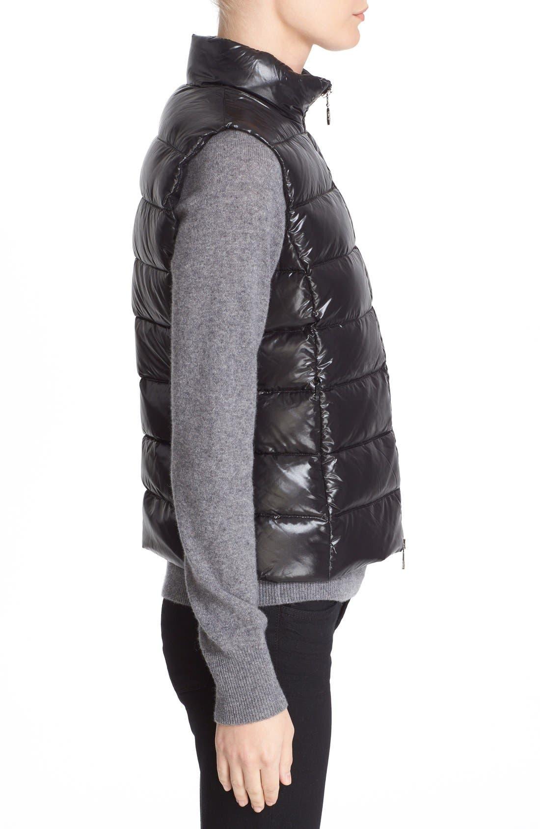 Alternate Image 4  - Moncler Ghany Water Resistant Shiny Nylon Down Puffer Vest