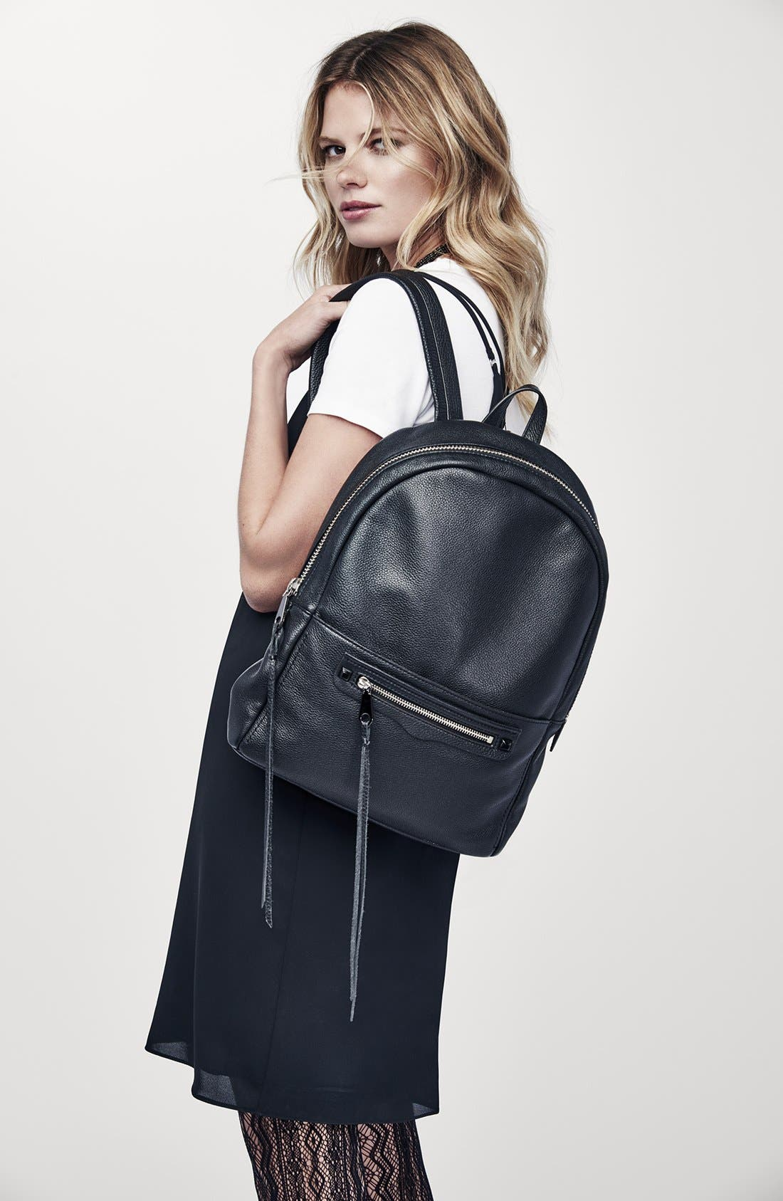 Alternate Image 11  - Rebecca Minkoff 'Always On Regan' Leather Backpack