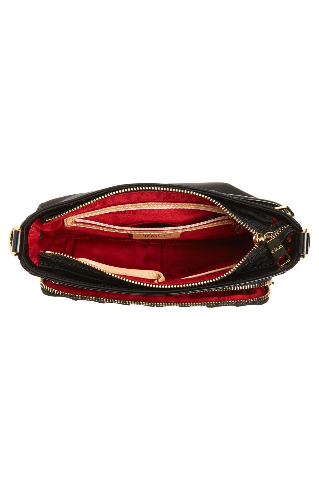 Alternate Image 4  - MZ Wallace 'Abbey' Bedford Nylon Crossbody Bag