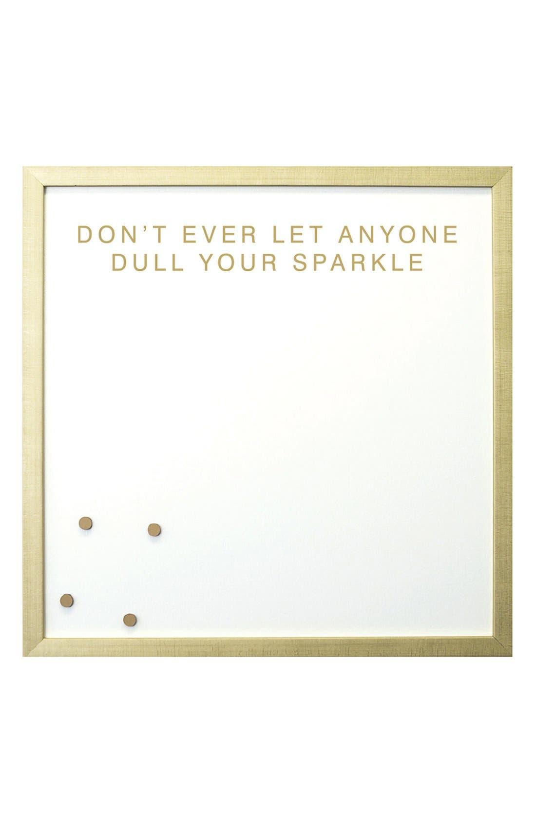 Petal Lane 'Sparkle' Magnet Board,                             Main thumbnail 1, color,                             Gold