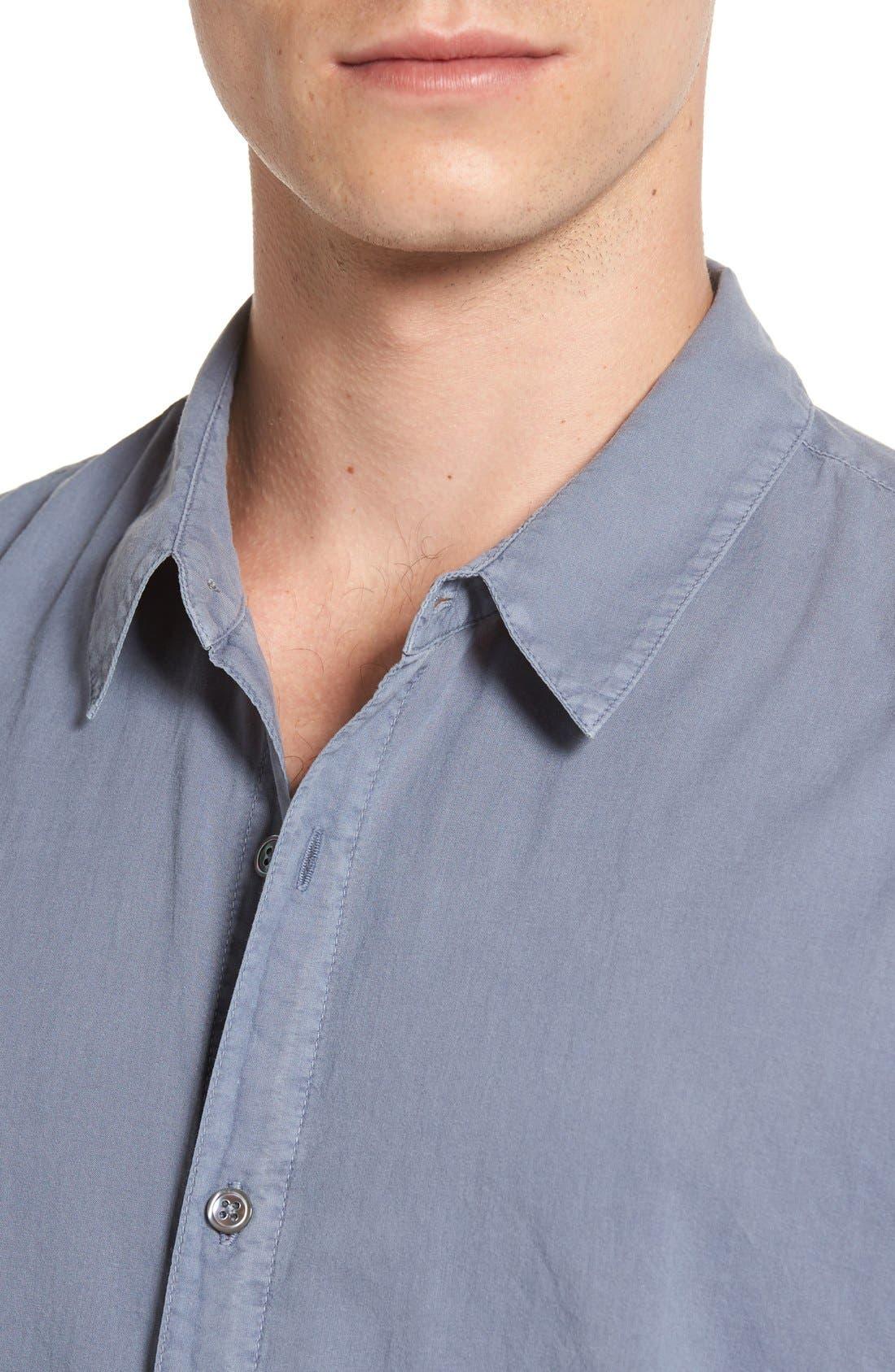 Alternate Image 4  - James Perse 'Classics' Cotton Lawn Shirt