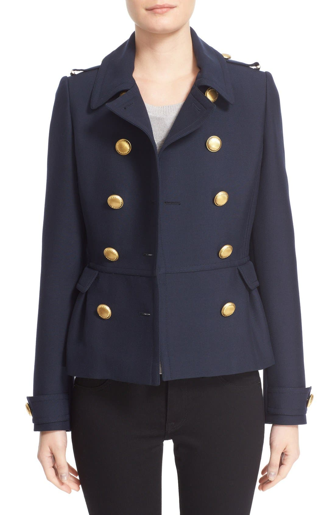 Main Image - Burberry 'Drumfield' Twill Coat