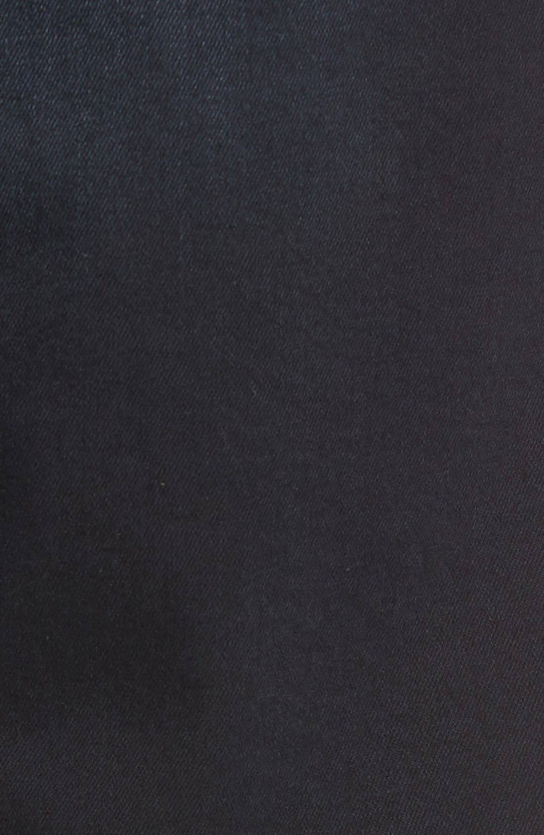 'Myles' Straight Leg Jeans,                             Alternate thumbnail 5, color,                             Ink Brushed Williamsburg