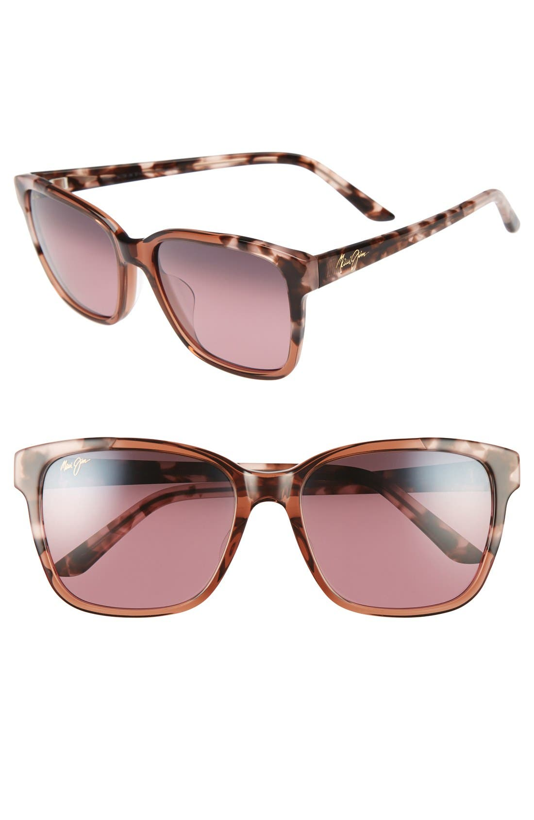Maui Jim Melika Sonnenbrille Pinkes Tortoise Pink Tortoise Polarisiert 58mm hceGDl