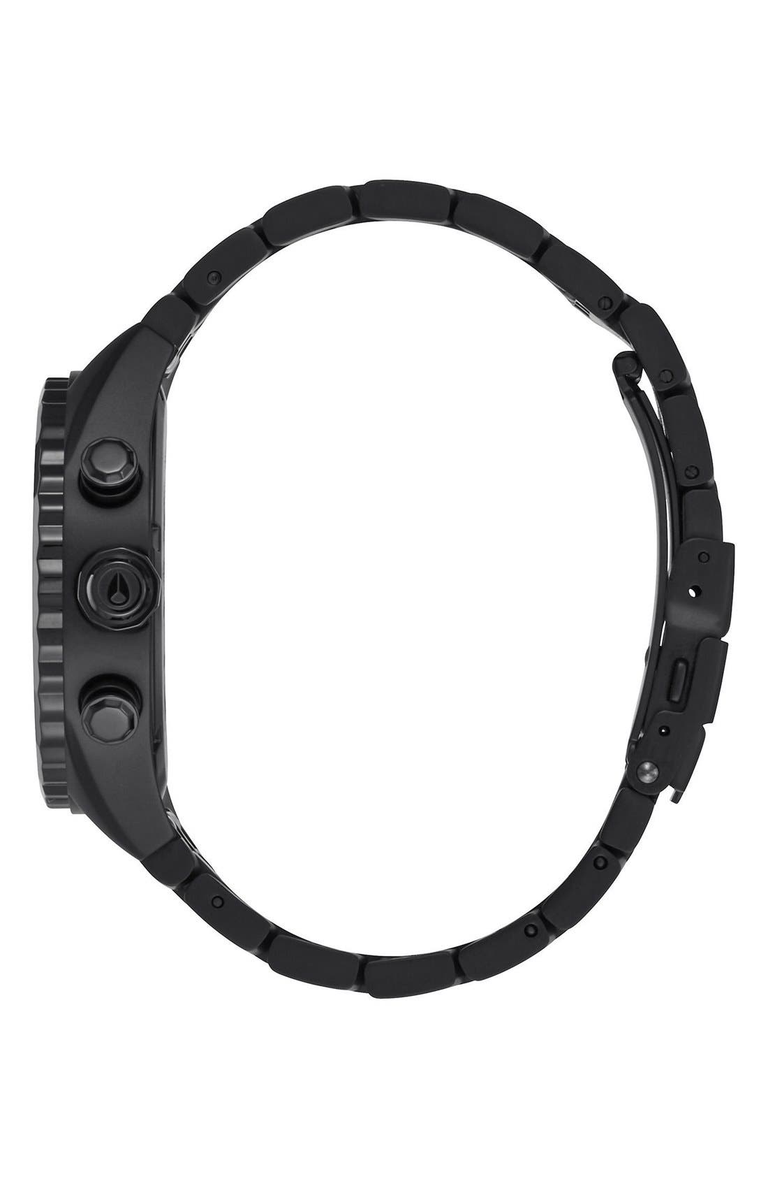 Alternate Image 3  - Nixon 'Minx' Chronograph Bracelet Watch, 39mm
