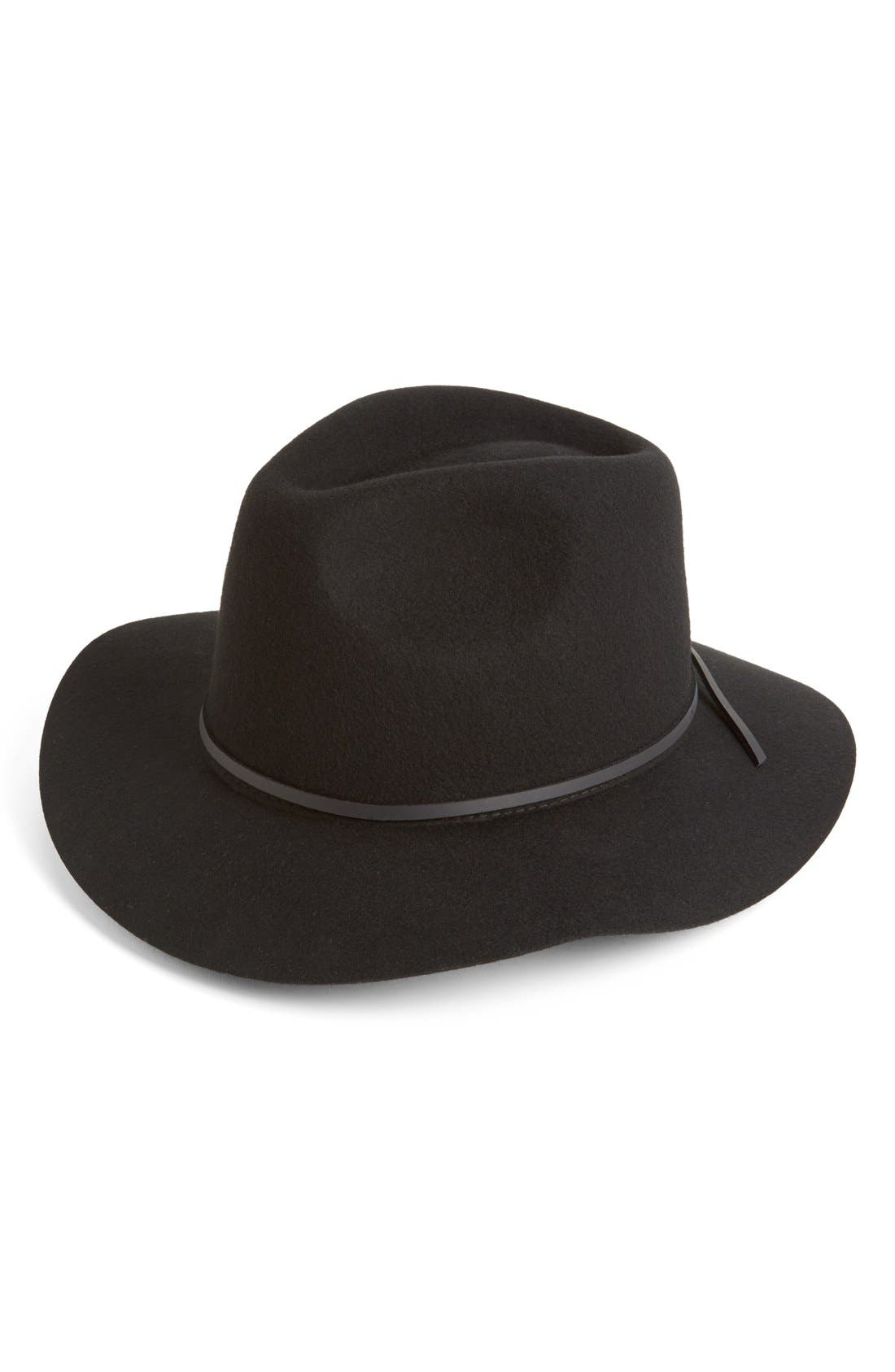 Alternate Image 1 Selected - Brixton 'Wesley' Wool Fedora