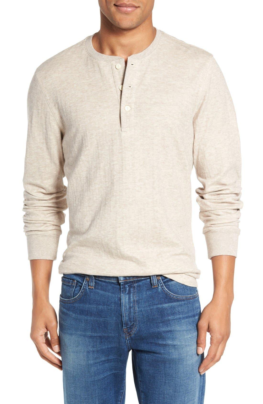 Main Image - Nordstrom Men's Shop Long Sleeve Henley