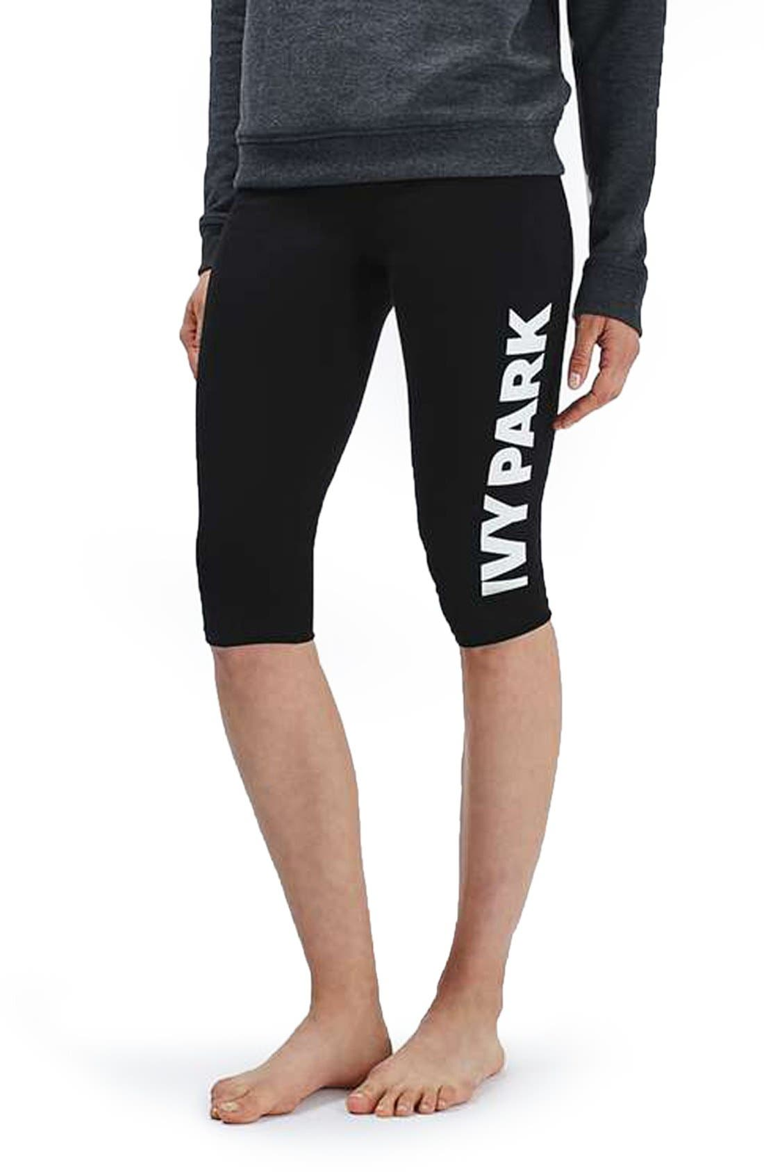 Main Image - IVY PARK® Logo Capri Leggings