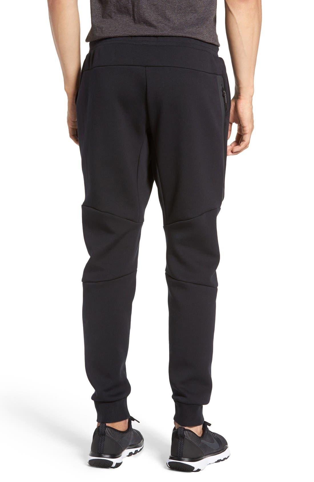 Tech Fleece Jogger Pants,                             Alternate thumbnail 3, color,                             Black/ Black