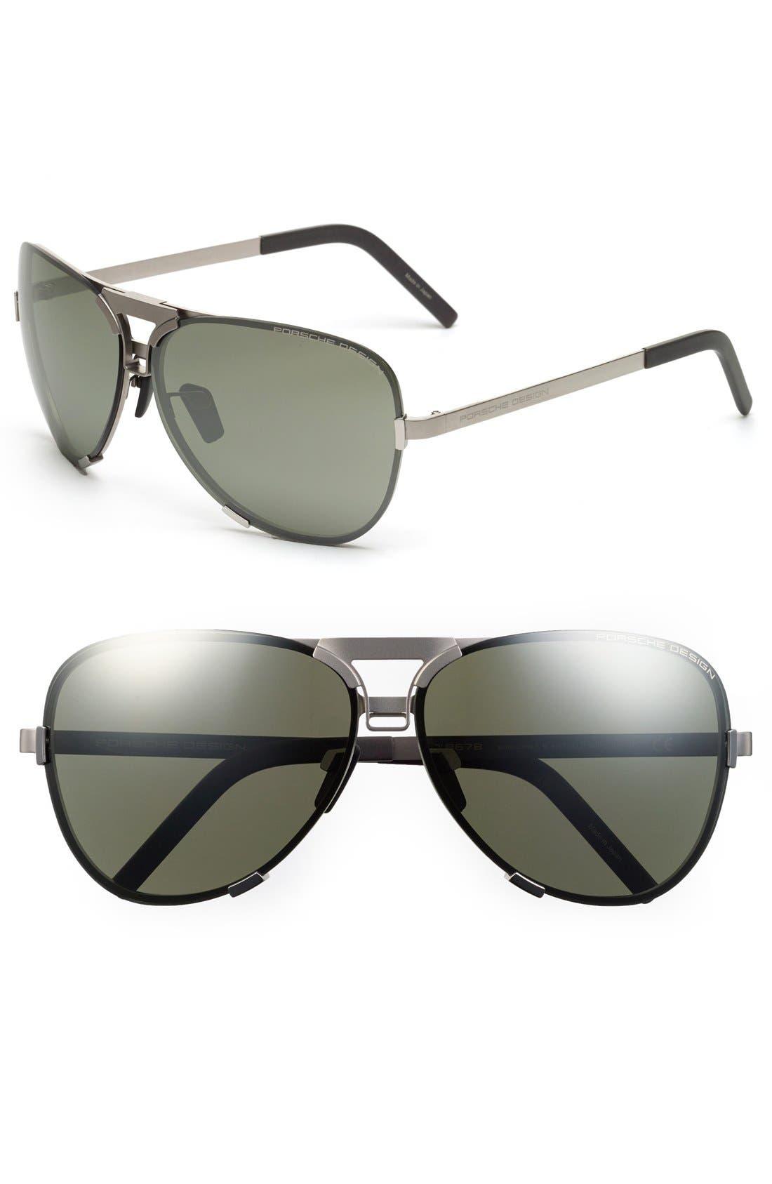 Porsche Design 'P8678' 67mm Sunglasses