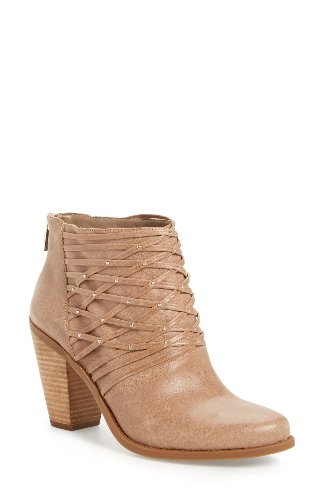 Jessica Simpson 'Claireen' Woven Bootie (Women)
