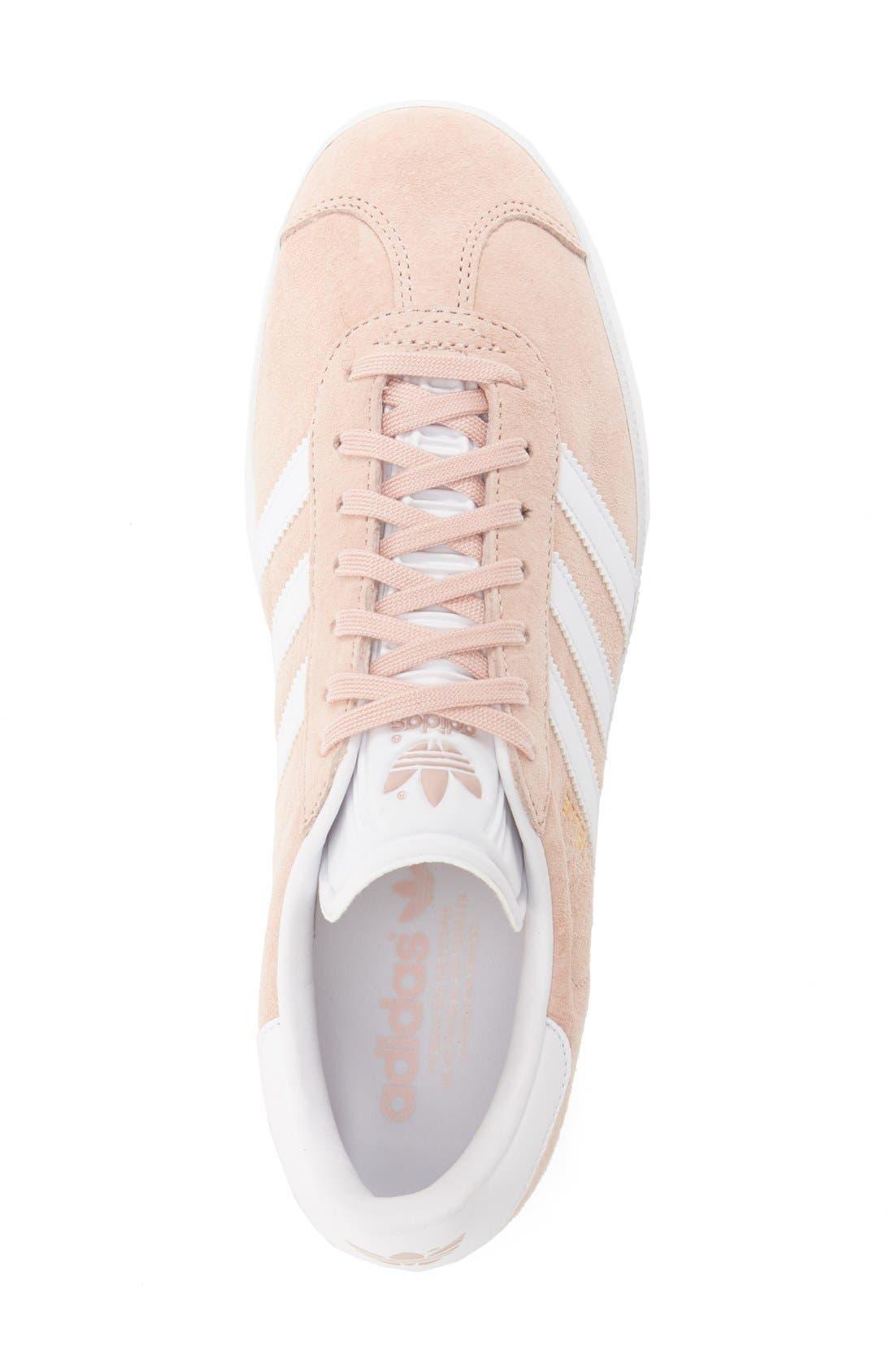 Gazelle Sneaker,                             Alternate thumbnail 3, color,                             Vapor Pink