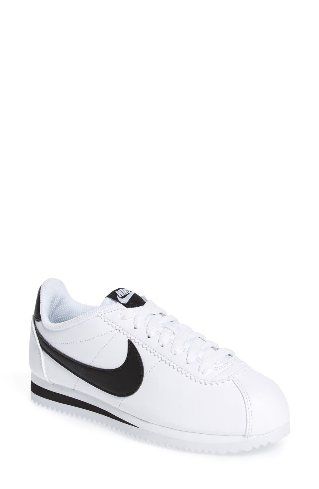 Alternate Image 1 Selected - Nike 'Classic Cortez' Sneaker (Women)
