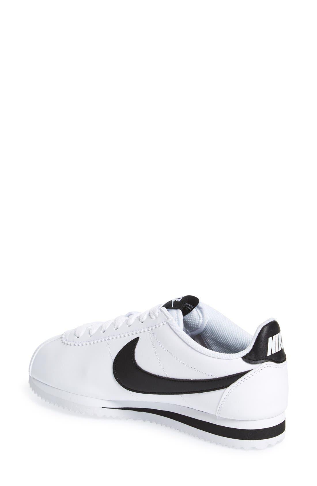 Alternate Image 2  - Nike 'Classic Cortez' Sneaker (Women)