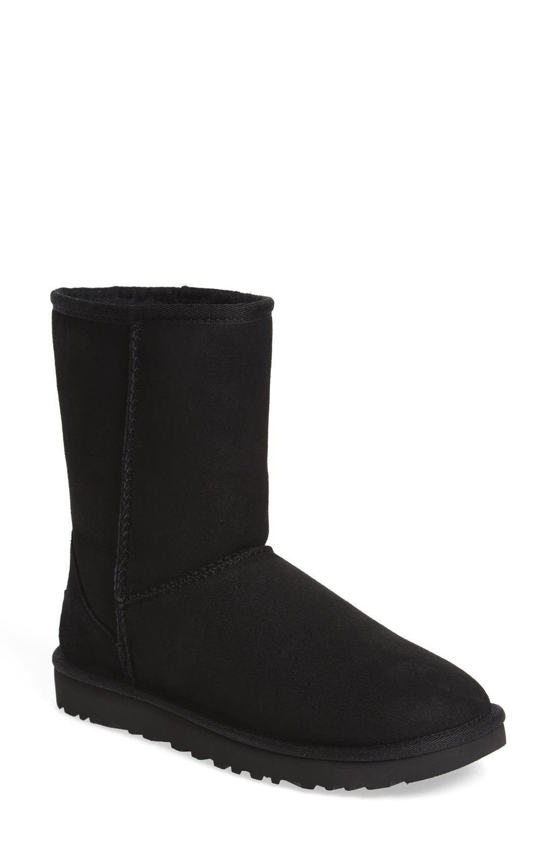 basic black uggs