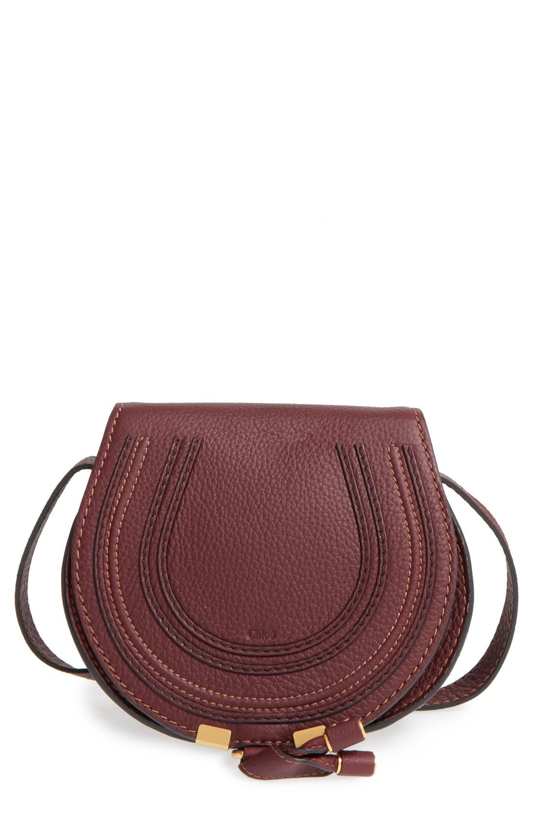 Chloé 'Mini Marcie' Leather Crossbody Bag