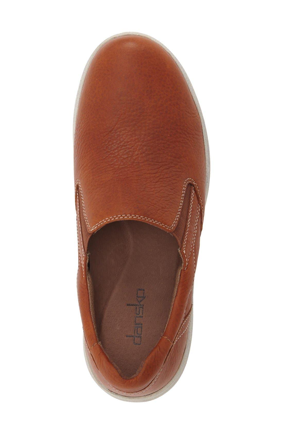 Alternate Image 3  - Dansko 'Viktor' Water Resistant Slip-On Sneaker (Men)