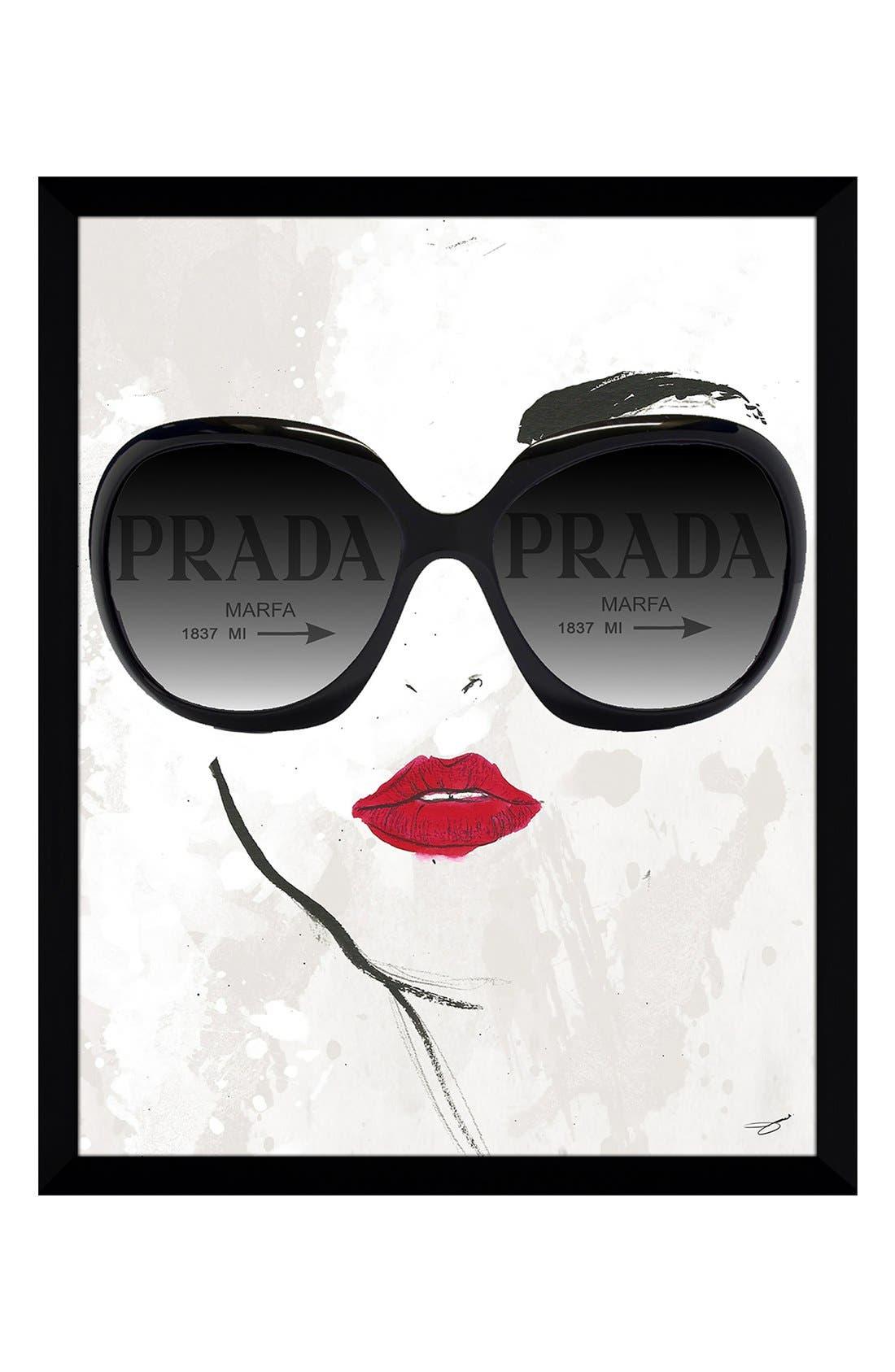 Alternate Image 1 Selected - Picture Perfect 'Prada Sunnies' Fine Art Print