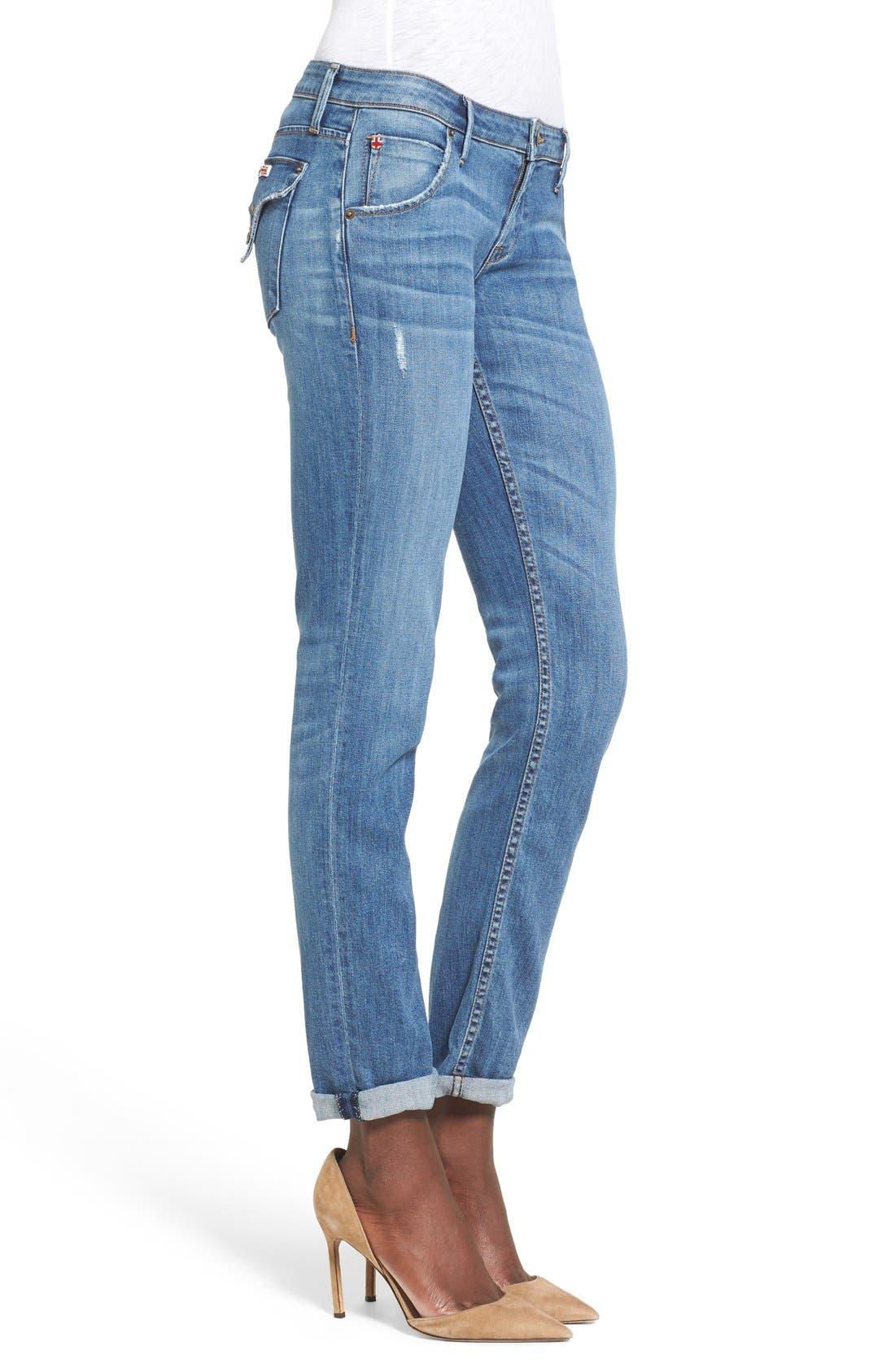'Jax' Slim Boyfriend Jeans,                             Alternate thumbnail 3, color,                             Skip