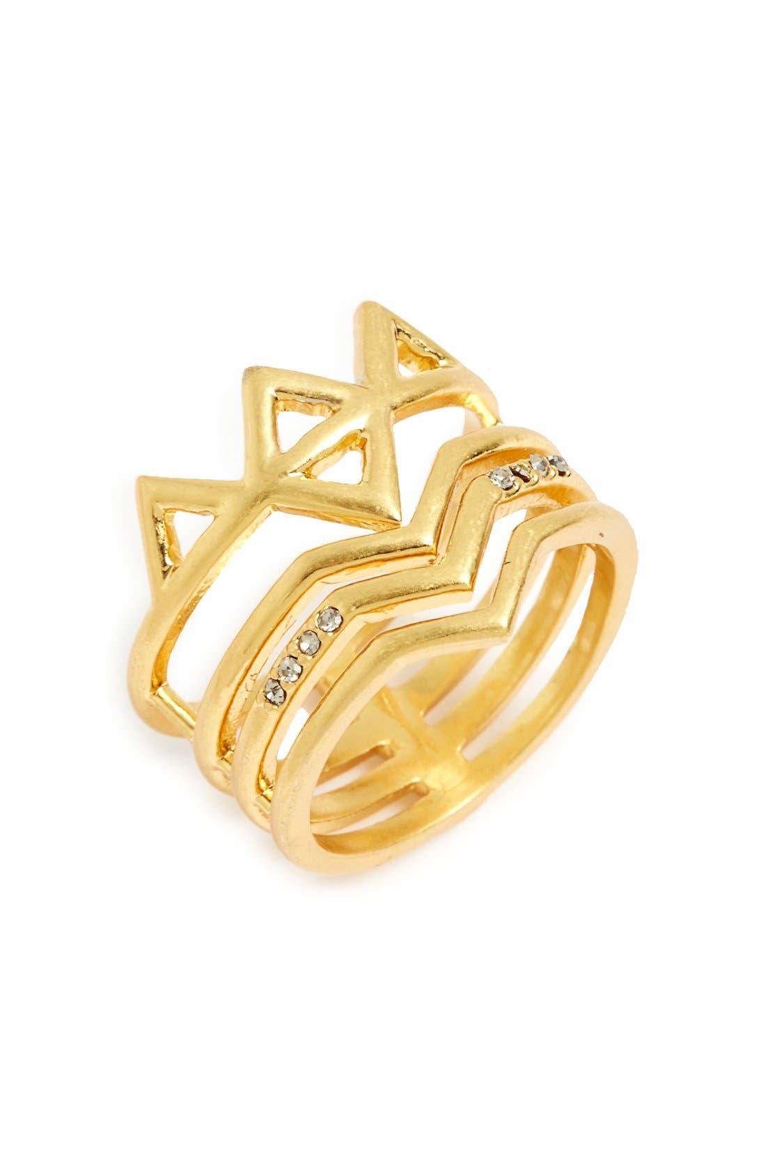 Main Image - Madewell 'Crownstack' Ring