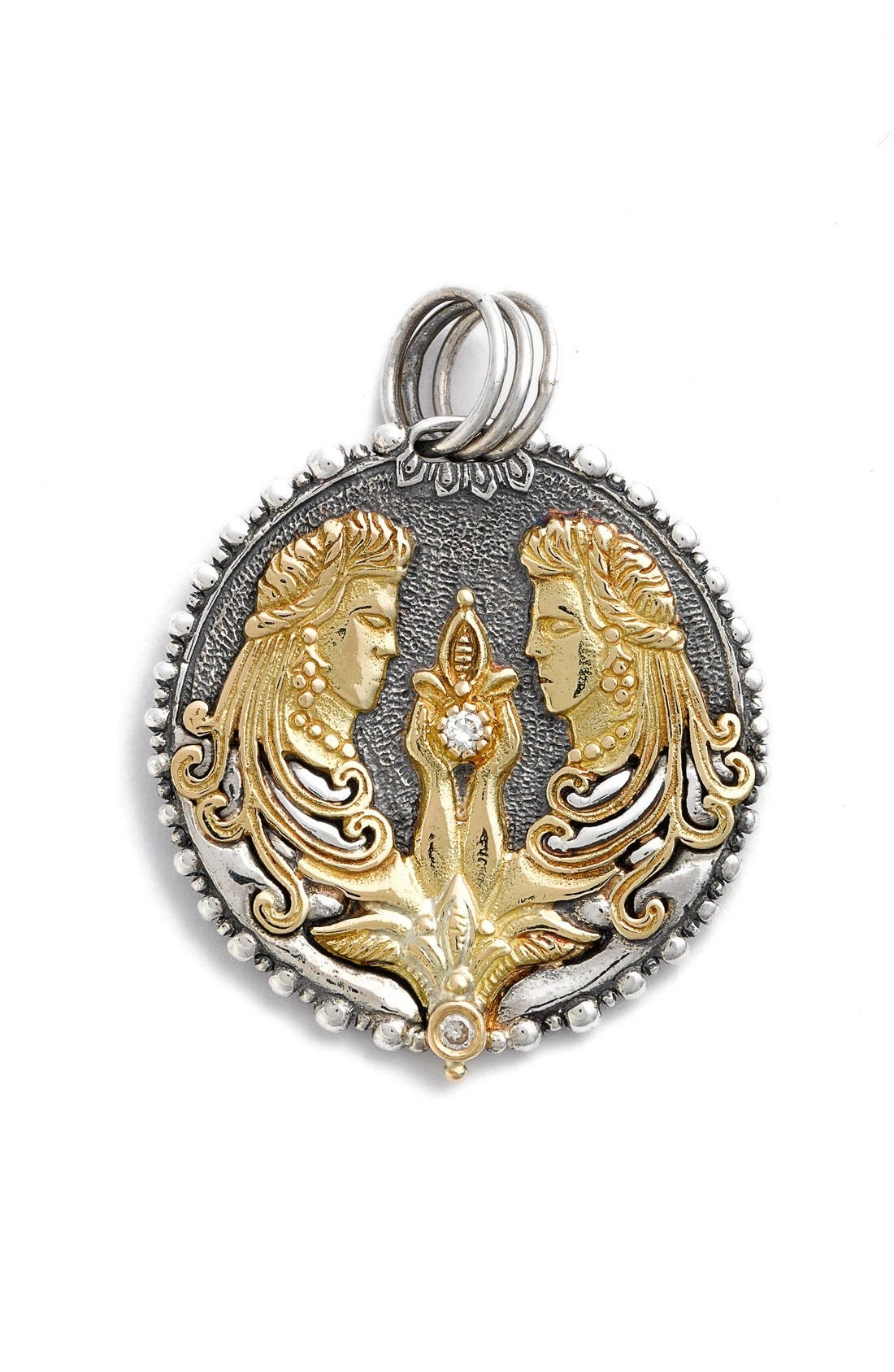 Konstantino zodiac pendant gemini silver gold modesens konstantino zodiac pendant gemini silver gold aloadofball Gallery