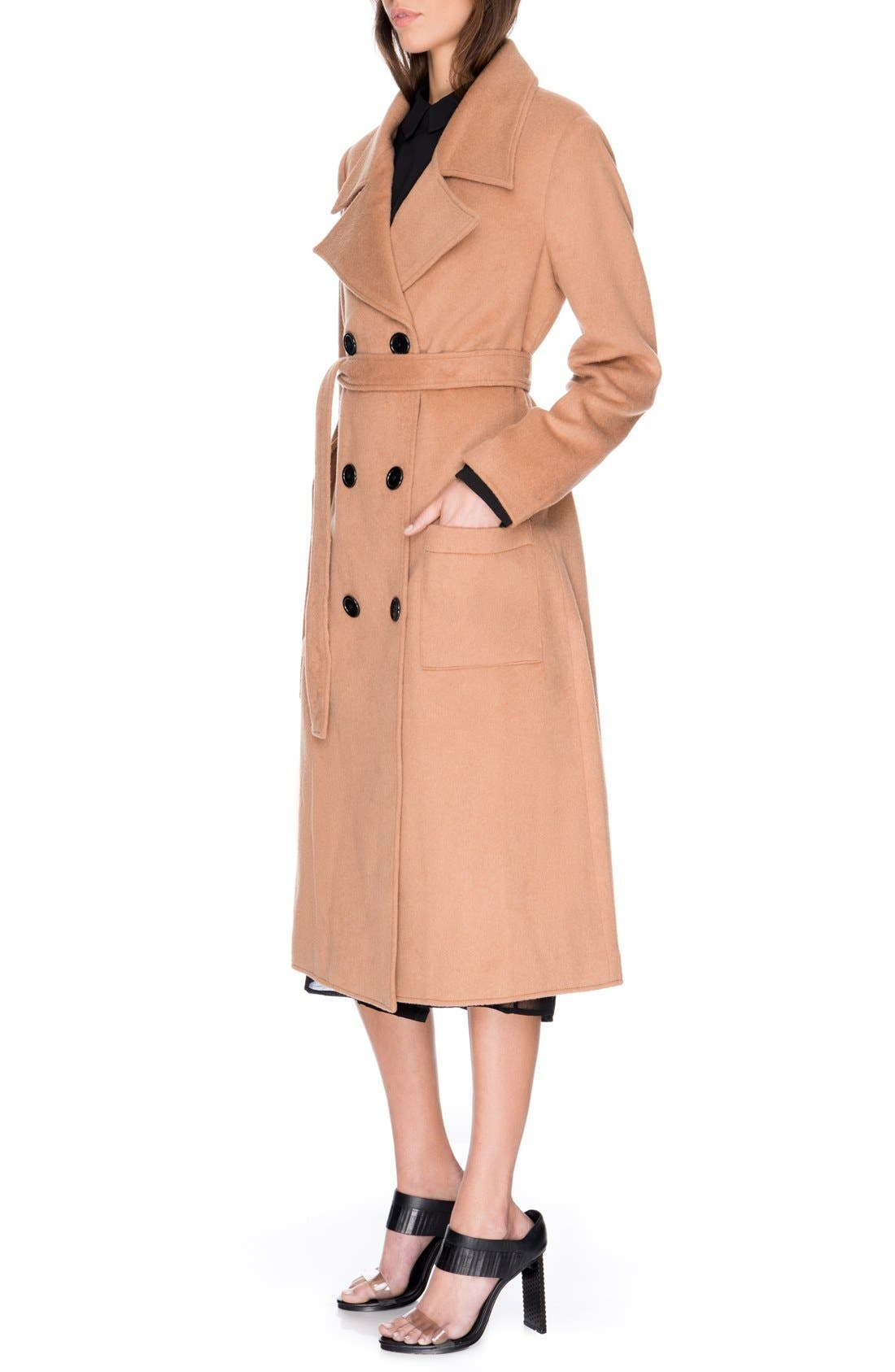Alternate Image 4  - C/MEO Collective 'The Glory' Wool Blend Trench Coat