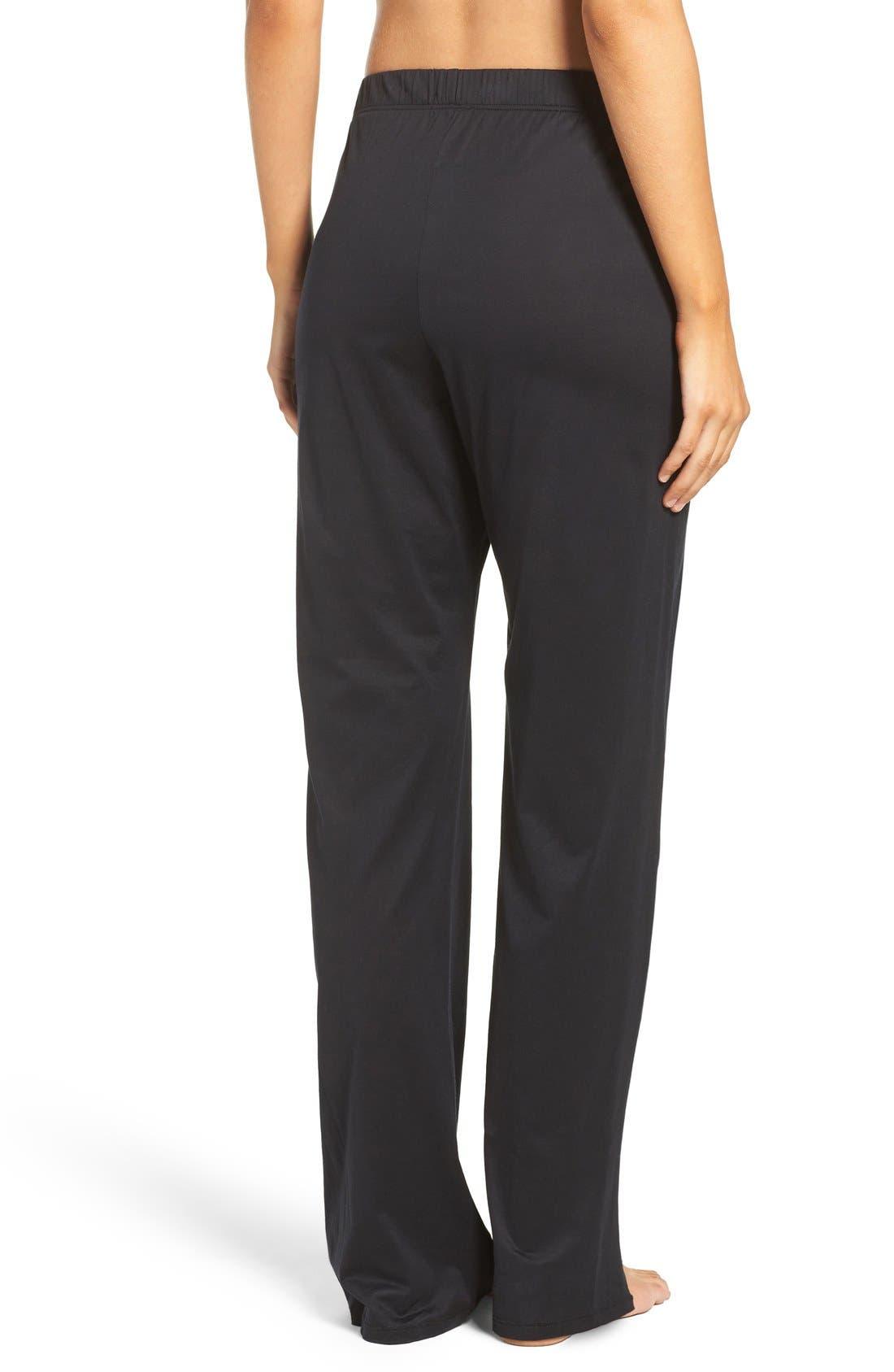 Alternate Image 2  - Hanro Cotton Lounge Pants