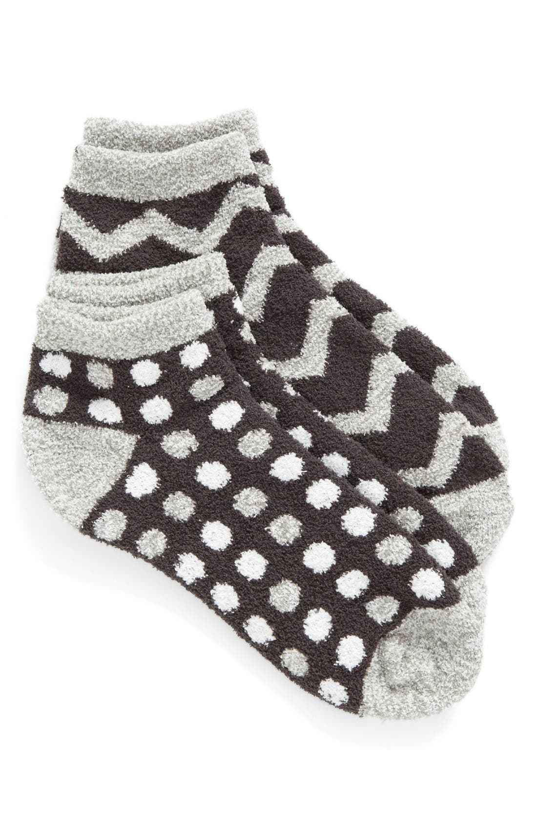 Alternate Image 1 Selected - Nordstrom Butter 2-Pack Ankle Socks