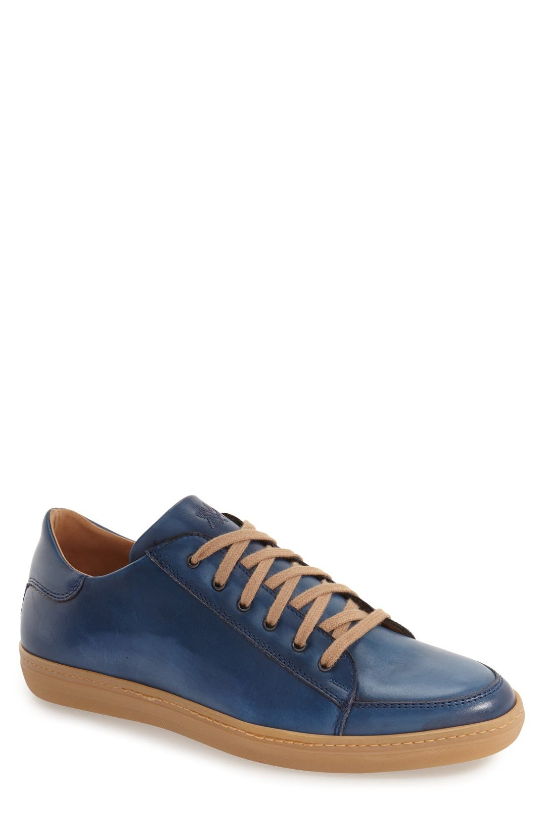 'Masi' Lace-Up Sneaker in Blue