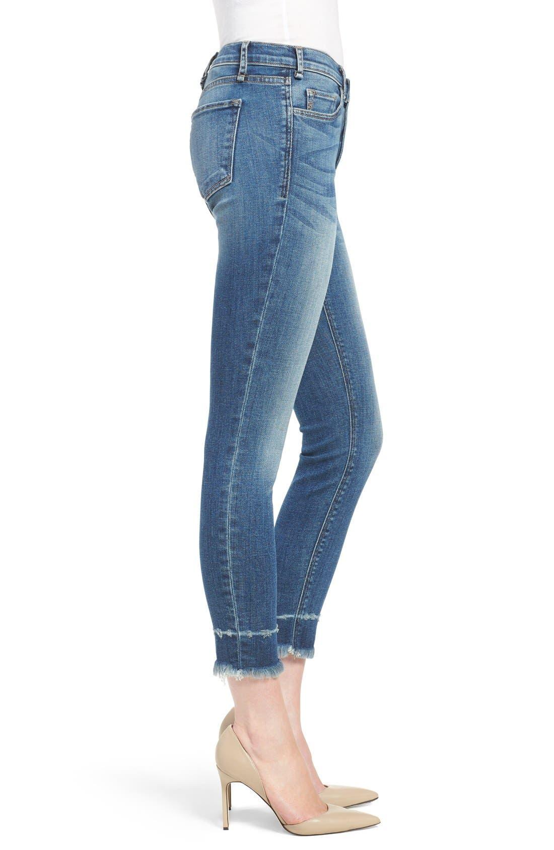 Alternate Image 3  - McGuire 'Newton' Released Hem Crop Skinny Jeans (Iona)