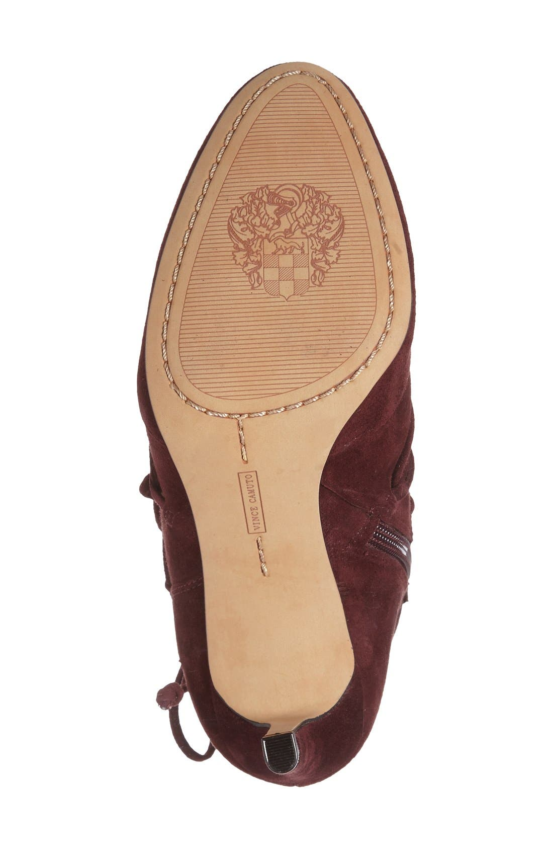 Alternate Image 4  - Vince Camuto 'Chenai' Wraparound Lace Bootie (Women)