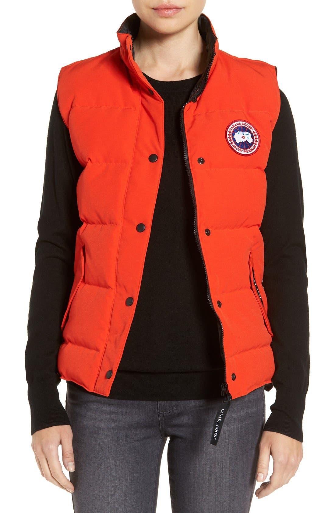 women s orange vests nordstrom rh shop nordstrom com