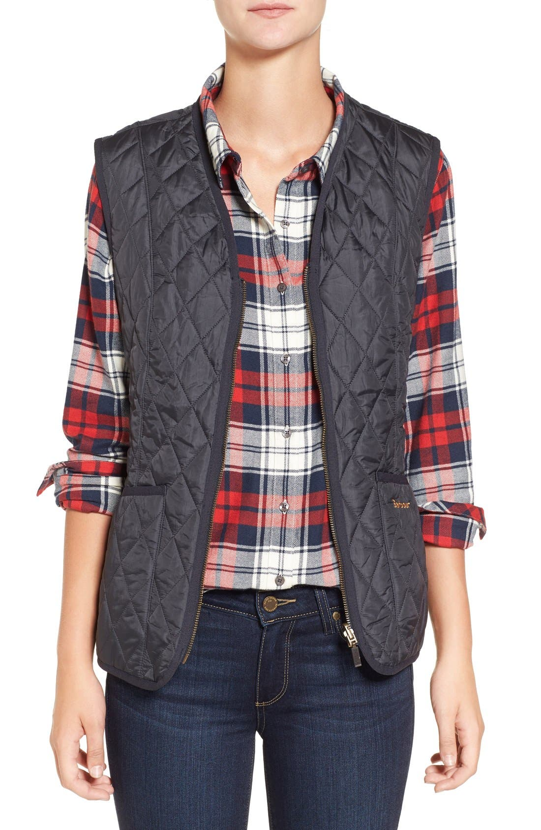 Barbour 'Beadnell' Quilted Liner