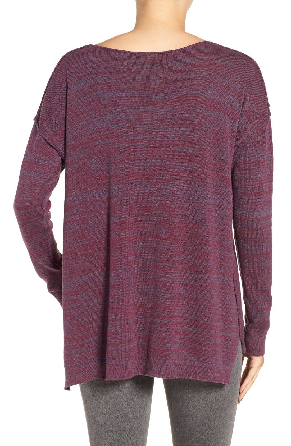 Alternate Image 2  - BP. Marl V-Neck Pullover