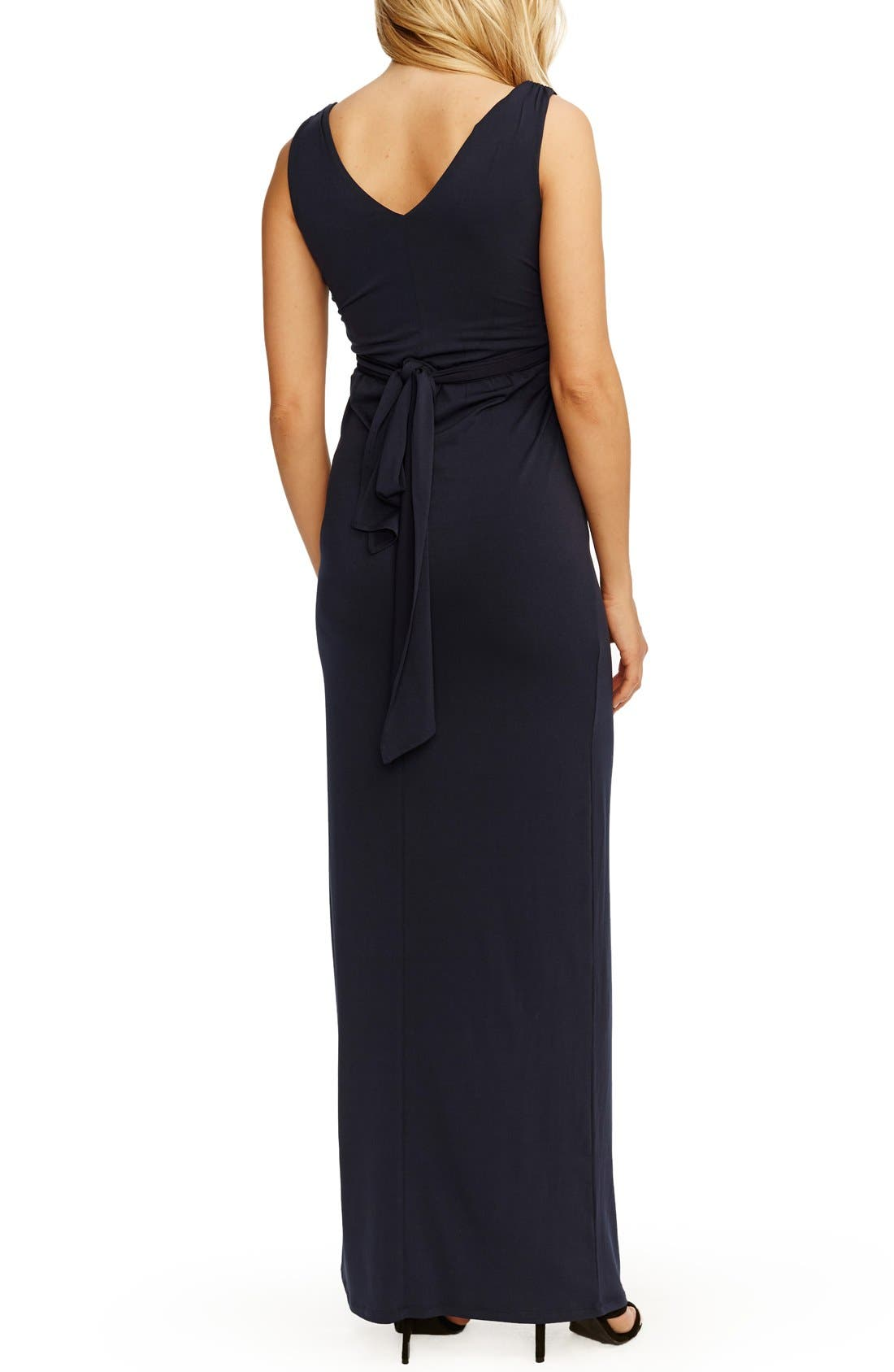 Alternate Image 2  - Rosie Pope Kristina Maxi Maternity Dress